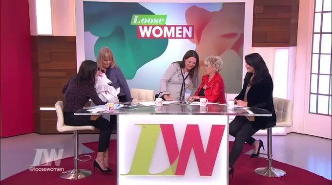 Loose Women - Linda gets a big (little) surprise on her last day