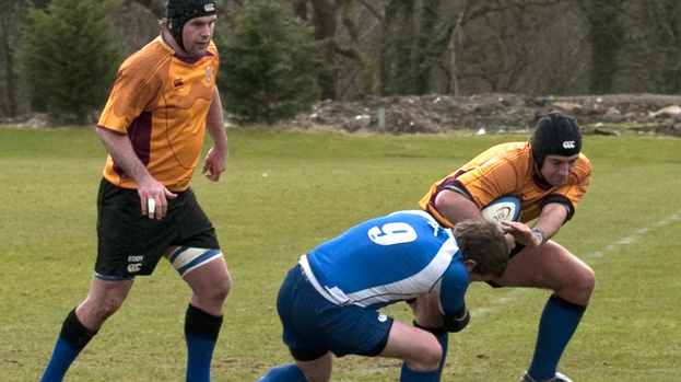 Pushing on: Dalziel take on Whitecraigs last season
