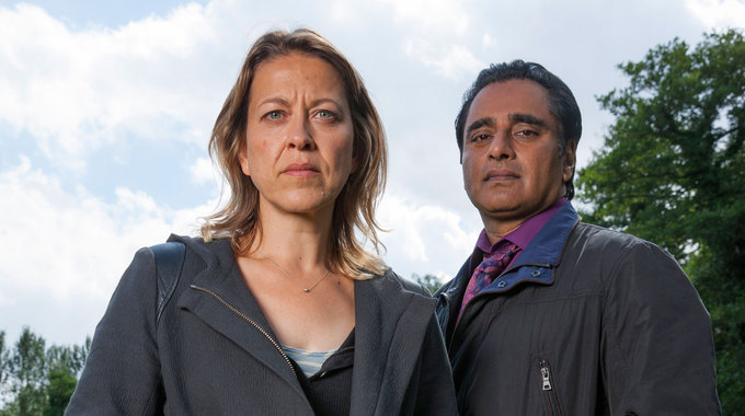 This Morning - Unforgotten interview with stars Nicola Walker and Sanjeev Bhaskar