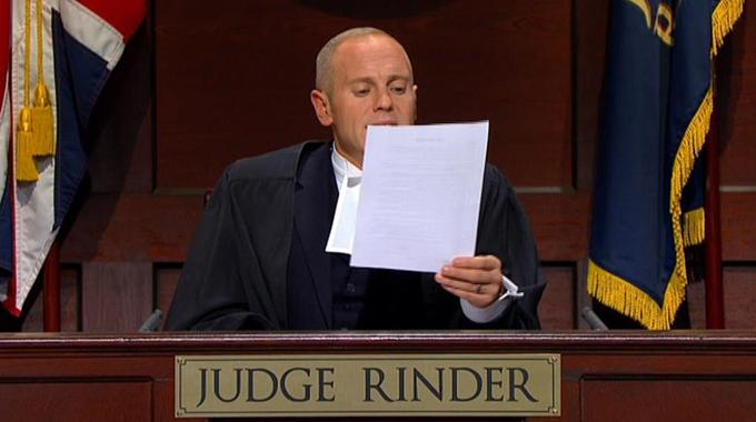 Judge Rinder - Fri 20 Jan, 2.00 pm