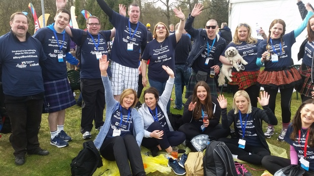 Kiltwalk Glasgow
