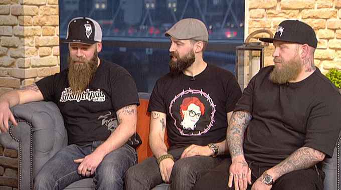Live at Five - Are these the best beards you've ever seen?