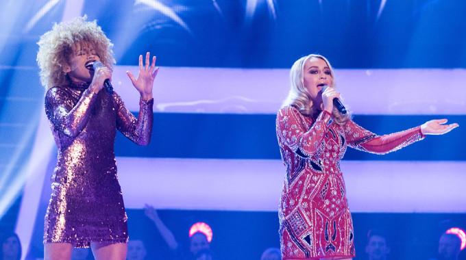 The Voice UK - The Voice Battle Round: Hayley v Jazmin