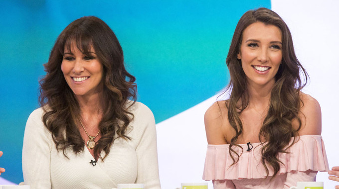 Loose Women - Linda Lusardi and her lookalike daughter Lucy Kane
