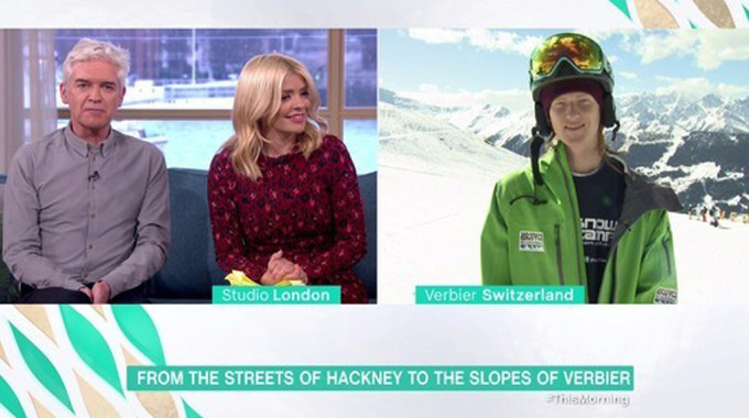 This Morning - From the streets of Hackney to the ski slopes of Verbier