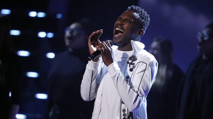 The Voice UK - Semi-Final: Mo performs Human