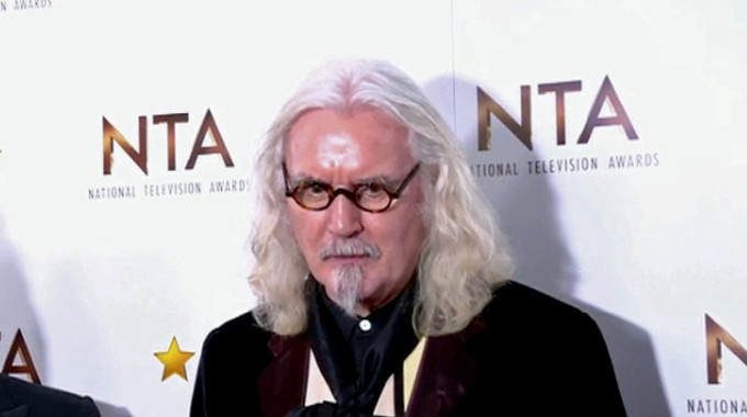 Billy Connolly & Me: A Celebration - NTAs 2016 Backstage Interviews: Billy Connolly chat
