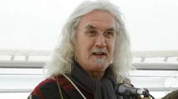 Billy Connolly & Me: A Celebration - Billy Connolly opens the salmon fishing season