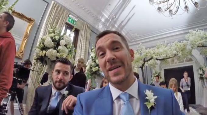 Emmerdale - Emmerdale behind the scenes: Pete and Leyla's wedding