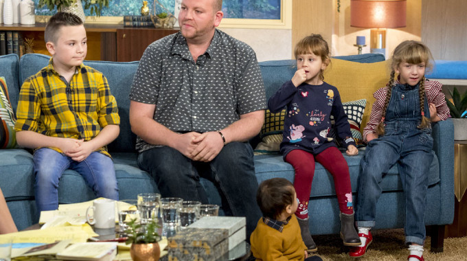 This Morning - Britain's most inspiring single dad