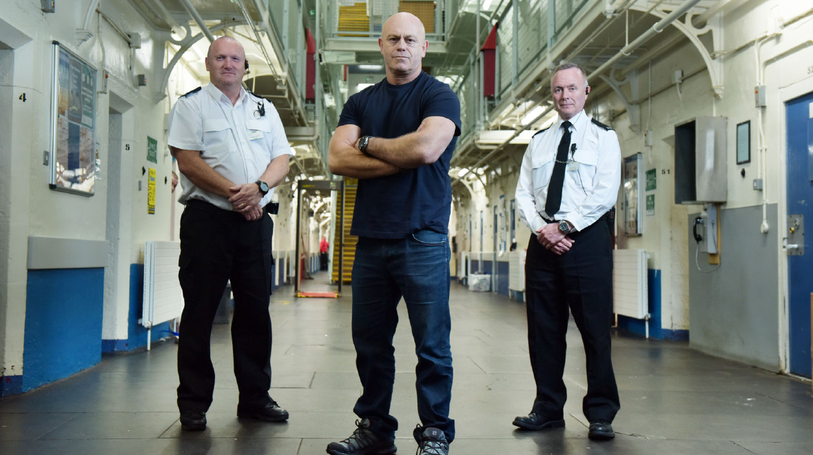 Crime and Punishment season, Ross Kemp gains privileged and exclusive access to every part of Barlinnie prison