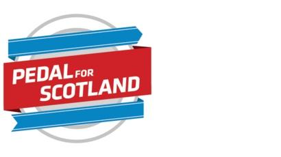Pedal For Scotland Logo