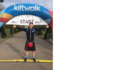 Kiltwalk Sean