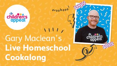 Gary Maclean cooks for STV Children's Appeal