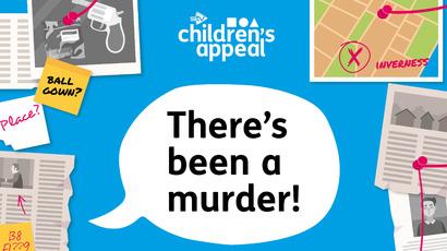 Murder mystery virtual fundraising game for STV Children's Appeal