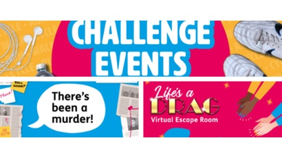 Run walk cycle for STV Appeal, Murder Mystery Game, Virtual Escape Room