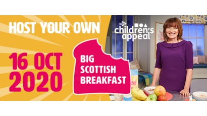 Host your own Big Scottish Breakfast for STV Children's Appeal