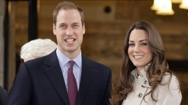 Cheeky view: Kate and William's naked neighbours