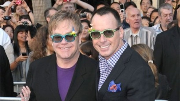 Fathers' Day: Elton and David hope for a new arrival