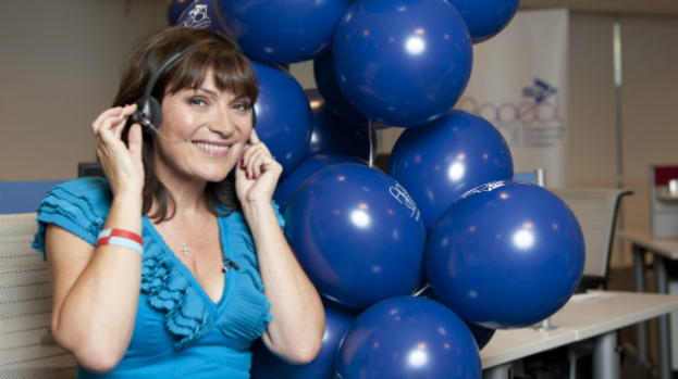 Kind hearts: Lorraine Kelly presents live STV Appeal show