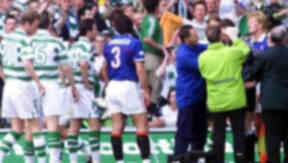 Painful memories: The 1999 title decider between Rangers and Celtic ended Old Firm title deciders.