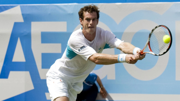 Backwards move: Andy Murray has moved down another place in the tennis world rankings.