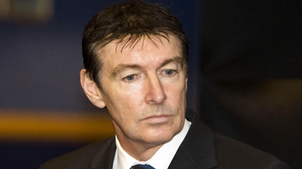 Heading for the exit: Gordon Smith has quit as the chief executive of the SFA after nearly three years in the post.