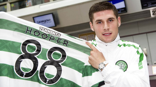 Hooper to wear number 88 for Celtic