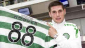 Hooper to wear number 88 for Celtic