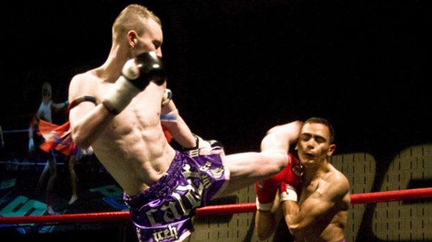 Scot Jordan Calder will be in action at the MMA and Muay Thai event, taking on Aaron O'Callaghan