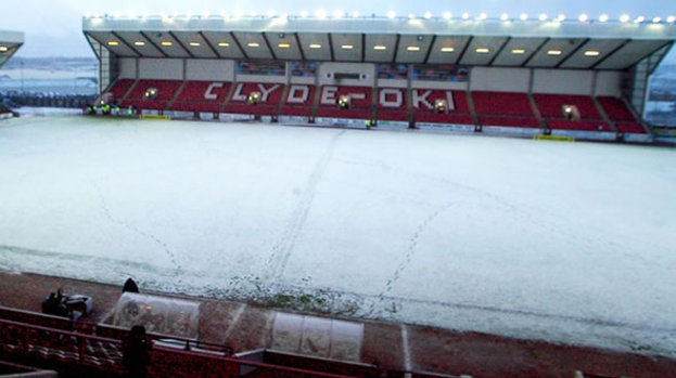 Clyde game called off as weather continues to disrupt fixtures