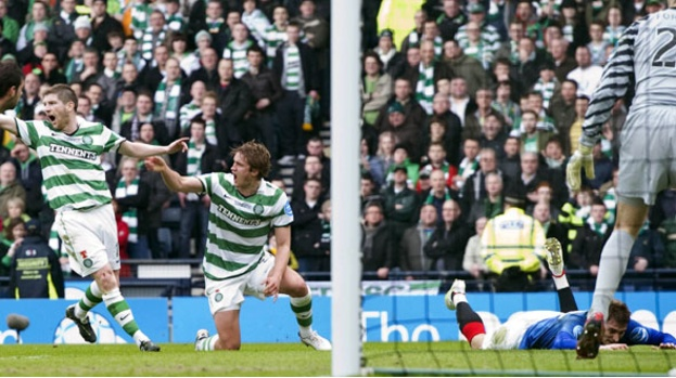 Jelavic was booked for this dive but had last laugh and scored the winner.