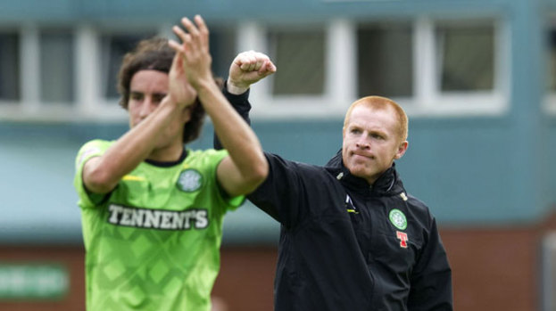 Neil Lennon (right) recruited Efrain Juarez (left) from Mexico last summer
