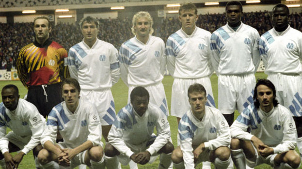 Durand won the 1993 Champions League with Marseille