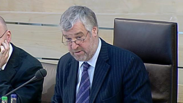 Alex Fergusson: If re-elected, he would be the first former Presiding Officer to remain at Holyrood.