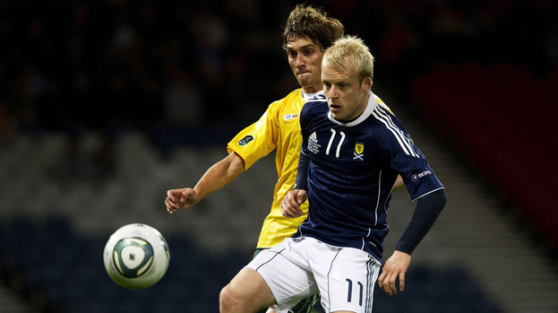 Scotland gained 1,080 points towards their FIFA world ranking for defeating Lithuania in October 2011.