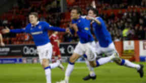 Nikica Jelavic says Rangers have the title in the bag.