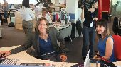 Katherine Grainger visits STV to boost the Appeal