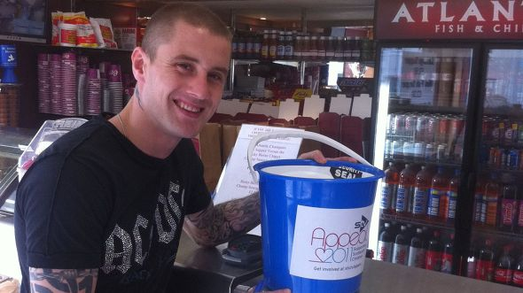 Picture: Boxing legend: WBO lightweight champion Ricky Burns