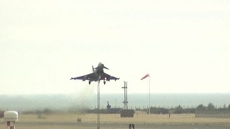 Live from RAF Leuchars in...