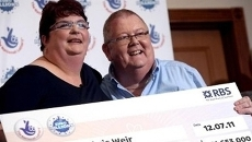 A Scottish couple are cel...