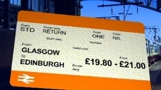Rail fares in Scotland ar...
