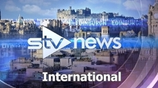 The man who found a baby abandoned outside a block of flats in Edinburgh has told STV News of his shock at the discovery. <strong>This episode has been edited for rights reasons.</strong>