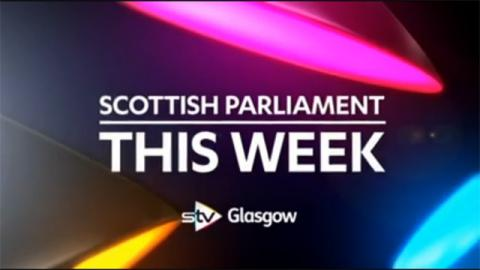 Scottish Parliament This Week