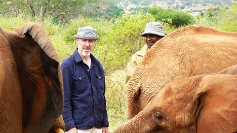 Slow Train Through Africa with Griff Rhys Jones