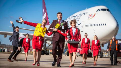 Virgin Atlantic: Up in the Air
