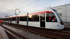 A fine line - Tram makes test journey