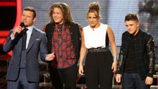 X Factor: the final three - Luke, Sam and Nicky will compete