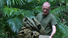 Steve Davis voted off I'm a Celeb - A 'glimpo' into all the action