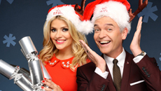 Text Santa with Holly and Phil